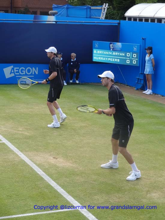 The Bryan Brothers, always perfectly matched
