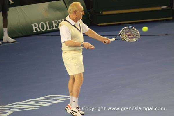 The great Rod Laver