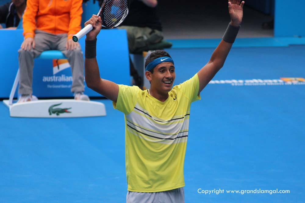 Nick Kyrgios (pic from AO2013)