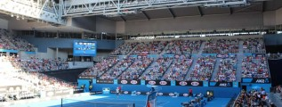 Hisense Arena (taking during AO2014)