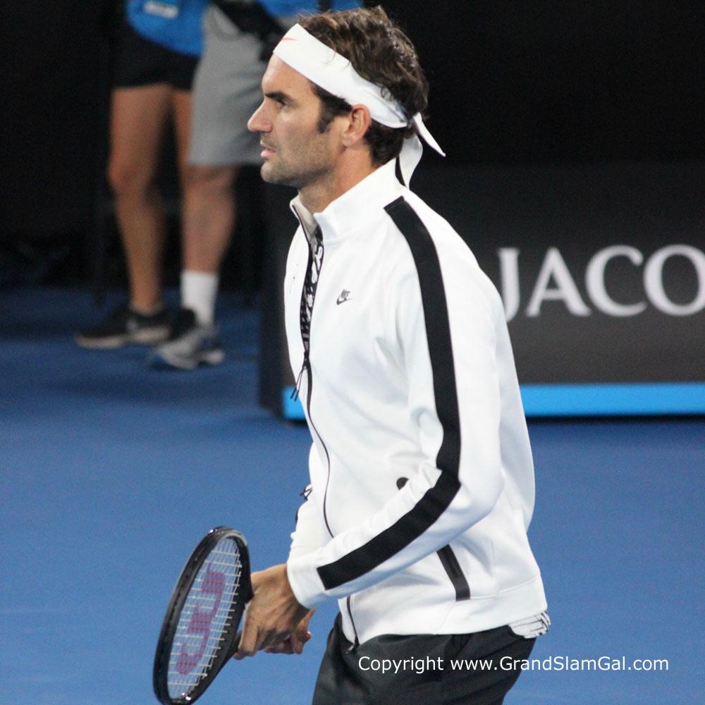 Roger Federer Aus Open 2017 Day 10001